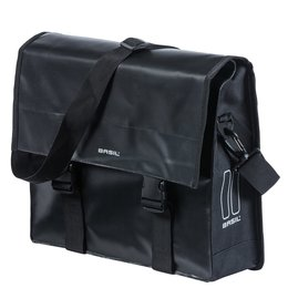 Basil Urban Load Messenger Bag 15-17L Zwart