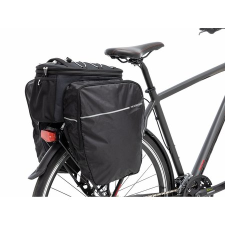 New Looxs Sports Trunkbag Racktime 31L Zwart