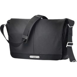 Brooks England Strand Messenger Bag Black 15L