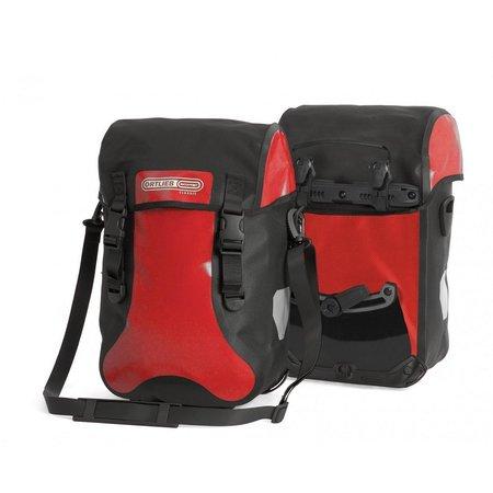 Ortlieb Sport-Packer Classic Red/Black 30L - Set van twee tassen