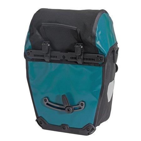 Ortlieb Bike-Packer Classic QL 2.1 Petrol/Zwart 40L - Set van twee tassen