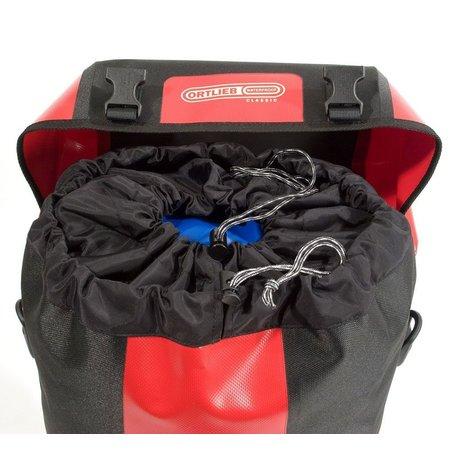 Ortlieb Bike-Packer Classic QL 2.1 Rood/Zwart 40L - Set van twee tassen