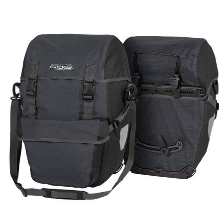 Ortlieb Bike-Packer Plus Grijs/Zwart 42L - Set van twee tassen