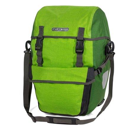 Ortlieb Bike-Packer Plus Limoen/Mosgroen 42L - Set van twee tassen
