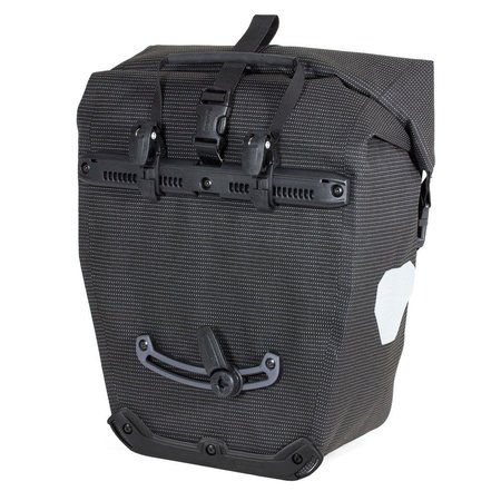 Ortlieb Enkele Fietstas Back-Roller High Visibility QL 2.1 Black - 20L