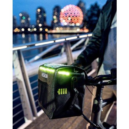 Ortlieb Stuurtas E-Glow Black 7L - Met LED-verlichting