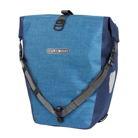 Ortlieb Back-Roller Plus QL 2.1 Denim/Steel Blue 40L - Set van twee tassen