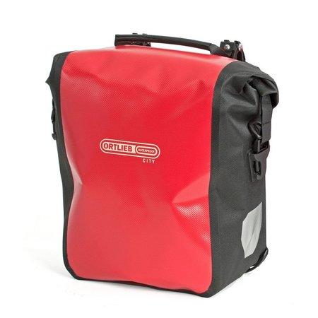 Ortlieb Sport-Roller City QL1 Rood 25L  - Set van twee tassen