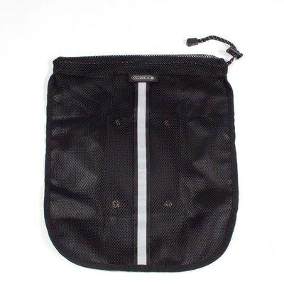 Ortlieb Mesh-Pocket Zwart - voor fietstassen