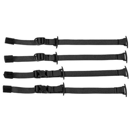 Ortlieb Gear-Pack Compressiebanden - Zwart
