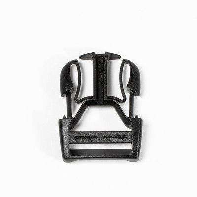 Ortlieb Steeksluiting Stealth 25 mm Zwart
