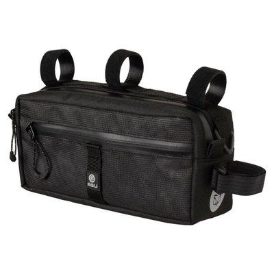 AGU Venture Stuurtas Bar Bag Zwart Hivis