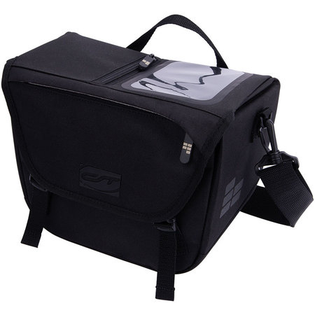 CONTEC Stuurtas Via Front 7,5L Zwart - KLICKfix