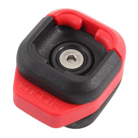 CONTEC Smartphone fietstasje Via Phone 0,6L Rood - met KLICKfix