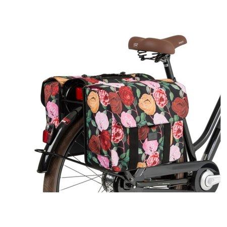 FastRider Dubbele fietstas Nyla Floral MIK - 32L