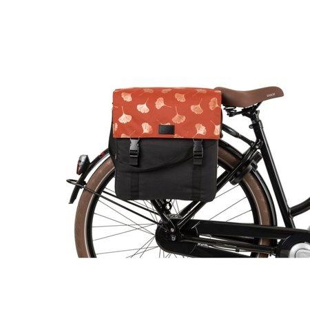 FastRider Enkele fietstas Shopper Ginkgo Trend Roest 17L