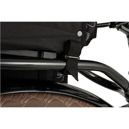 FastRider Dubbele fietstas Ginkgo Trend Mik Roest 33L