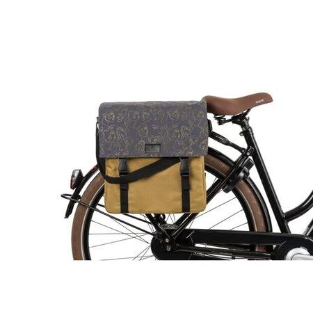 FastRider Enkele fietstas Shopper Livia Trend Olijfgroen 17L