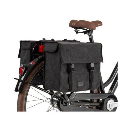 FastRider Dubbele fietstas Celo 34L Antraciet