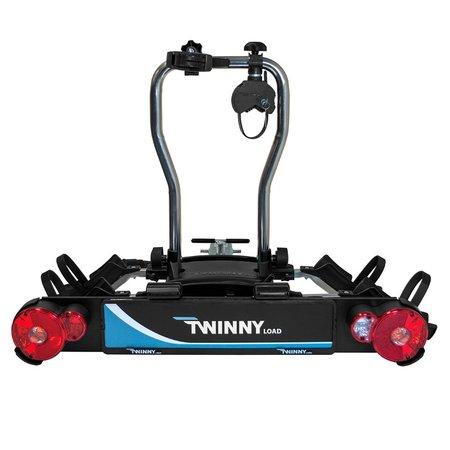 Twinny Load Fietsendrager eCarrier II - swingkoppeling, kantelbaar & meerdere extra's
