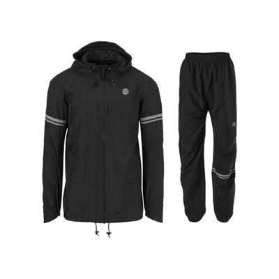 AGU Original Rain Suit Essential - Regenpak Zwart - Maat XL