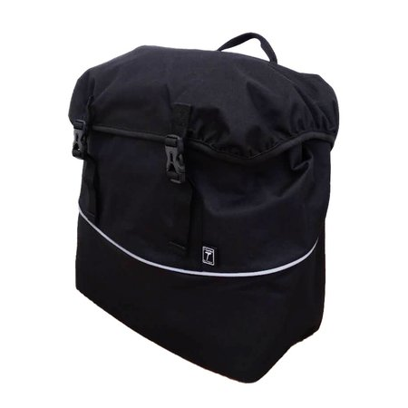 Willex Enkele fietstas Single Traveller Bag 20L Zwart