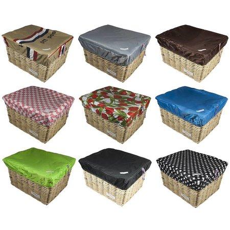 Hooodie Box L Bruin voor Fietsmand of Fietskrat