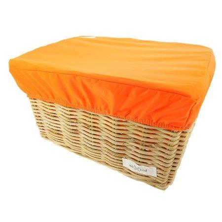Hooodie Box L Oranje voor Fietsmand of Fietskrat