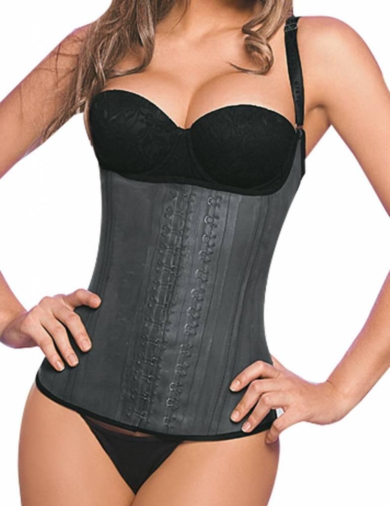 Ann Chery Ann Chery 2028 – Latex Waist Trainer semi vest 3-hooks