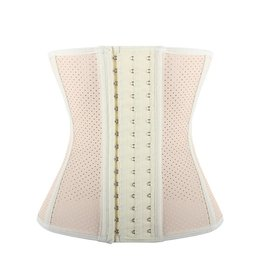 LaFaja LaFaja – Geperforeerde Latex Waist Trainer  - 9 baleinen !