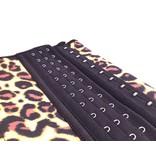 LaFaja LaFaja – Corset Minceur  en Latex - Leopard -  3-crochets - 9 Baleines
