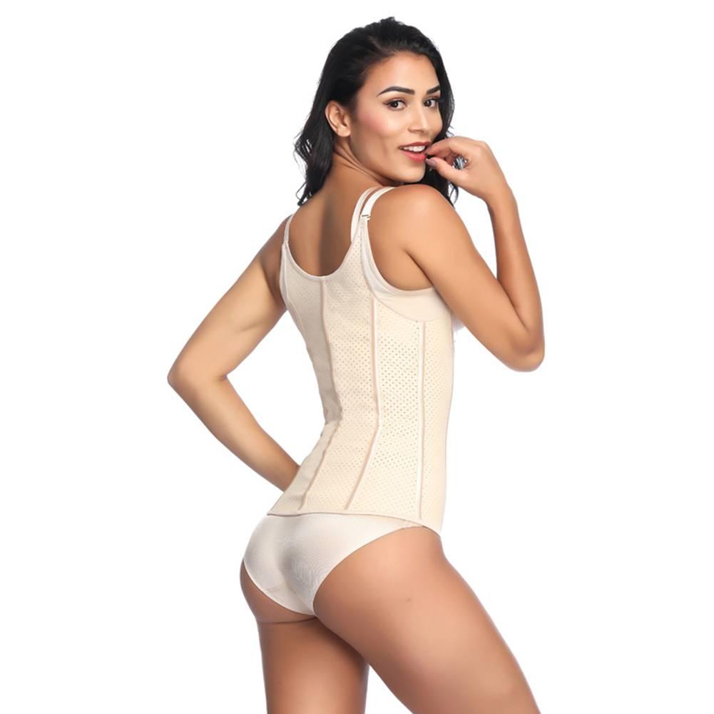 LaFaja LaFaja – Colombian Waist Trainer Semi-Vest -Perforated Latex - 9 bones - 3Hooks