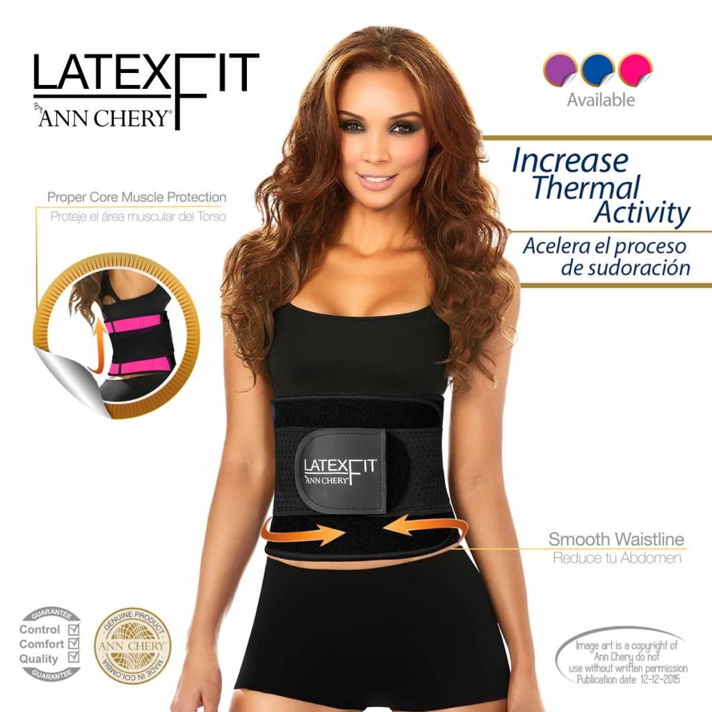 Ann Chery Ann Chery – Latex Fitness Gordel - Verstelbaar - Hoge ondersteuning