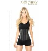 Ann Chery Ann Chery - Waist Trainer black Metallic 3-hooks -