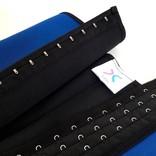 LaFaja LaFaja – Kolumbianischer Latex & Spandex  Waist Trainer / Blau / 3-hooks