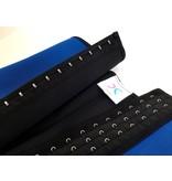 LaFaja LaFaja –  Corset Minceur en Latex & Spandex Colombien / Bleu / 3-crochets