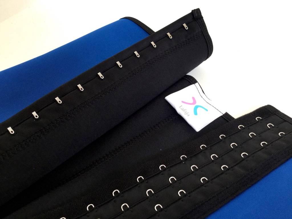 LaFaja LaFaja –  Corset Minceur Sport Colombien / Bleu / 3-crochets / 9 Baleines