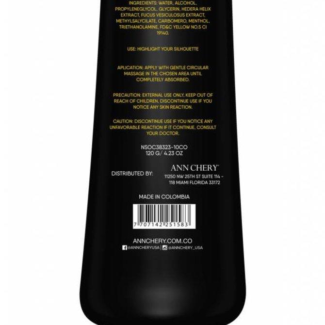 Ann Chery Ann Chery - Crème aminsiscante  pour le corps HOT  - Effet d'échauffement / Amincissant / Renforce la peau
