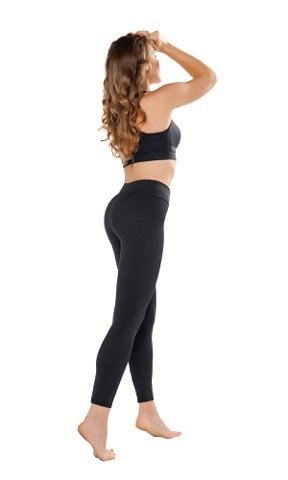 Gwinner Gwinner Push Up , Anti Cellulite Leggings treated  with natural microcapsules for a slimmer, smoother silhouette / Made in Europe by Gwinner