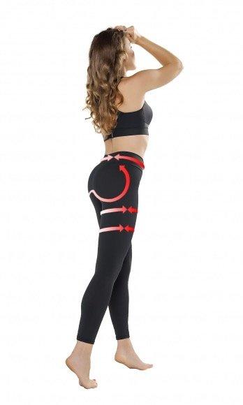 Gwinner Gwinner Push Up und Anti Cellulite Leggings für eine schlankere, straffere Silhouette und heben die Pobacken : Push-Up Effekt