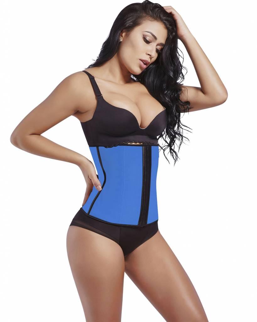 fbb05d0090a17 Lafaja colombian latex spandex waist trainer blue hooks jpg 819x1024 Colombian  waist trainer
