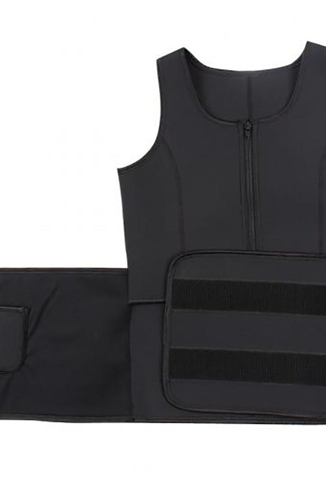 LaFaja LaFaja - Neoprene 'Waist Plus' Vest  - Ultra Sweat slimming vest  - Black