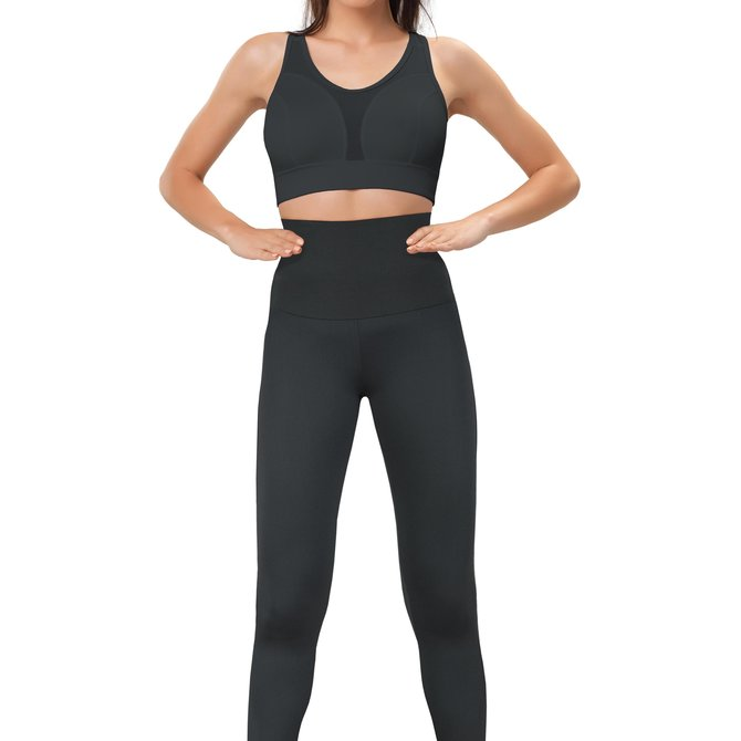 Gwinner Gwinner High Waisted Leggings für eine schlankere Taille, flachen Bauch, glattere Silhouette / Made in Europe by Gwinner