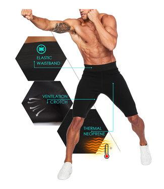 LaFaja LaFaja Hommes - Short de Sport Compression - Néoprène de haute qualité