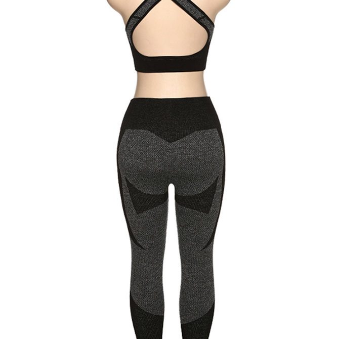 Fitness - Yoga Outfit - Top + Broek