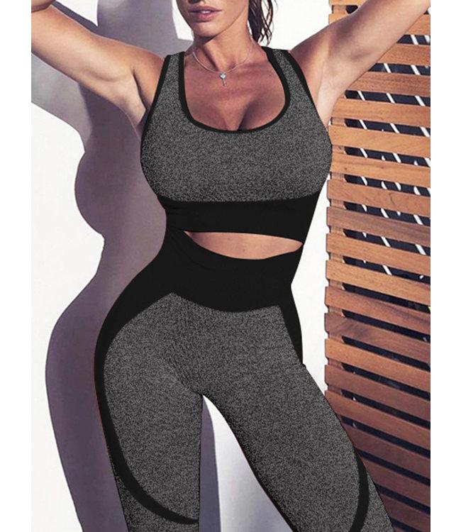 Fitness - Tenue de Yoga - Top + Pantalon