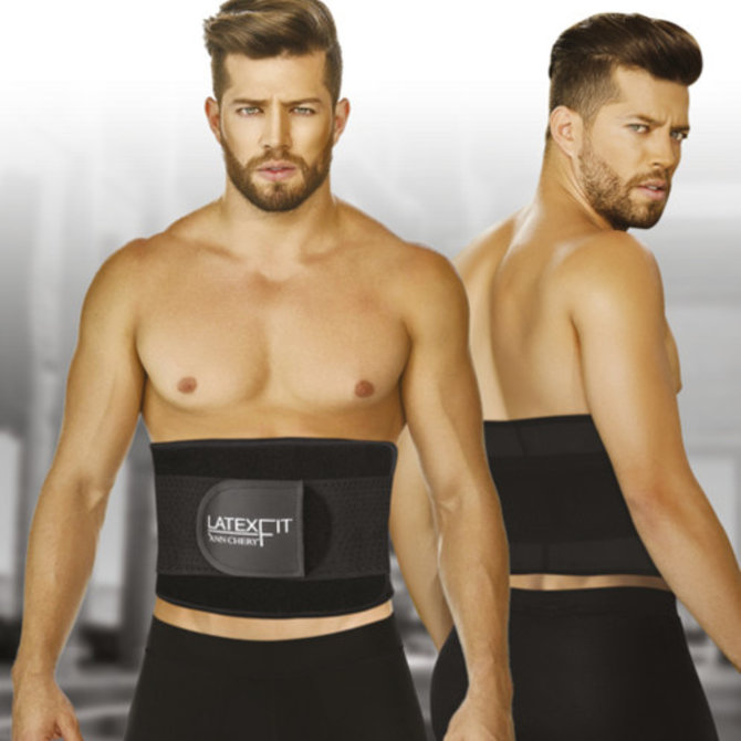 Ann Chery Ann Chery  For Men - Latex Fitness Belt  - High support