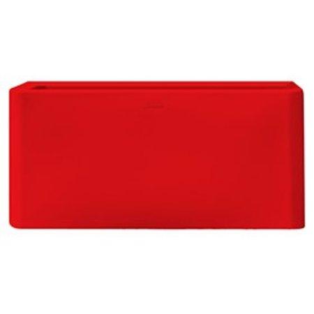 Otium Design Qaudris 40 Long. Maceta en diferentes colores para interior y exterior.
