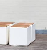 Otium Design Cubus en différentes couleurs pour l'intérieur et l'extérieur.