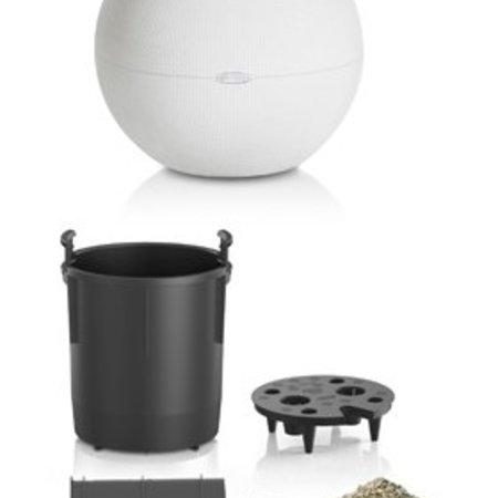 Lechuza Puro Flowerpot - Comprend Lechuza Irrigation